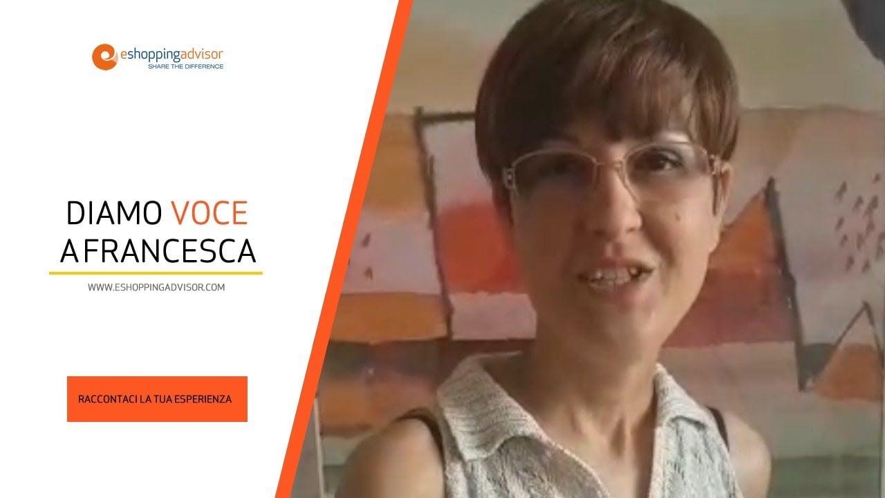 Diamo voce a Francesca!