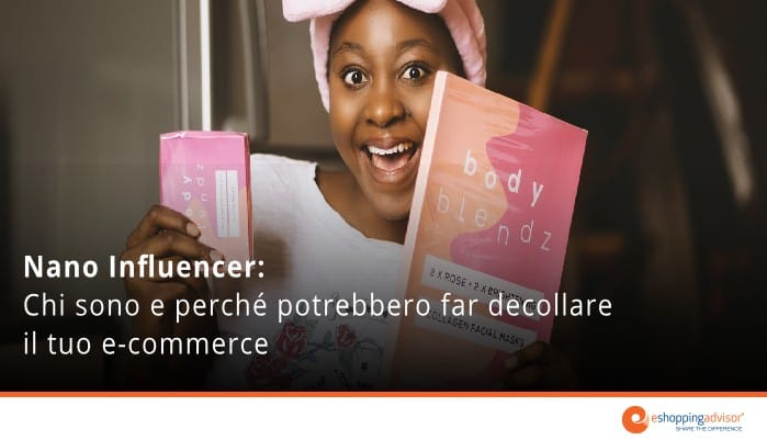 nano influencer per ecommerce