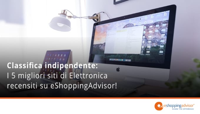 classifica ecommerce elettronica eshoppingadvisor