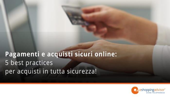 pagamenti e acquisti sicuri online