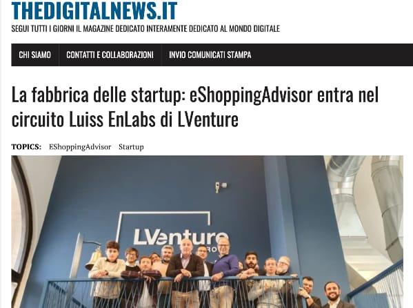 eshoppingadvisor articolo thedigitalnews
