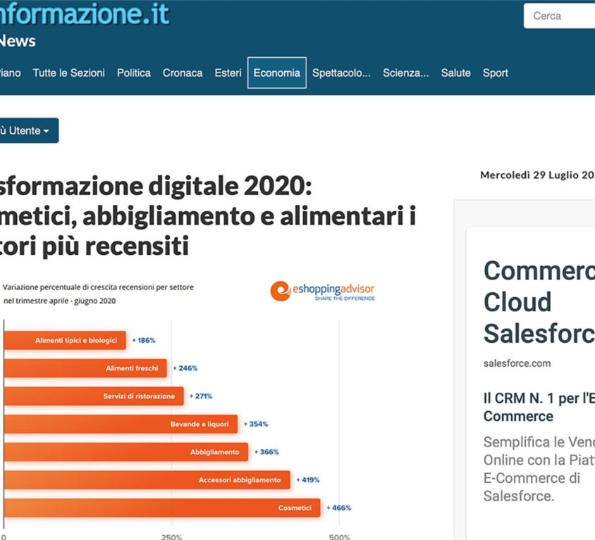 trasformazione digitale 2020