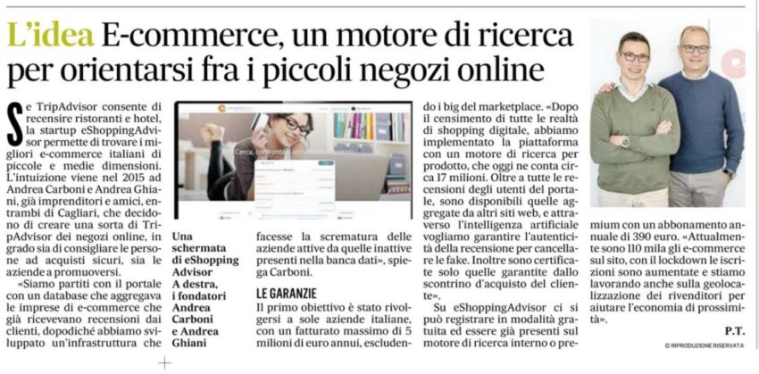 il Messaggero eShoppingAdvisor