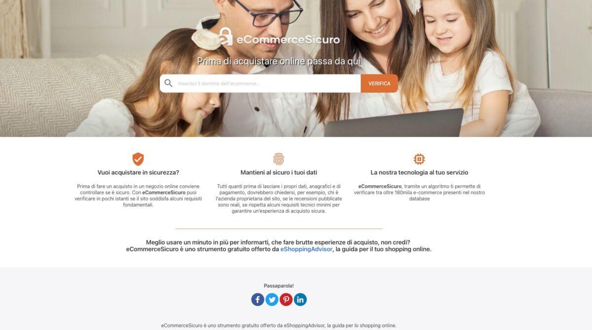 acquisti online sicuri con ecommersicuro