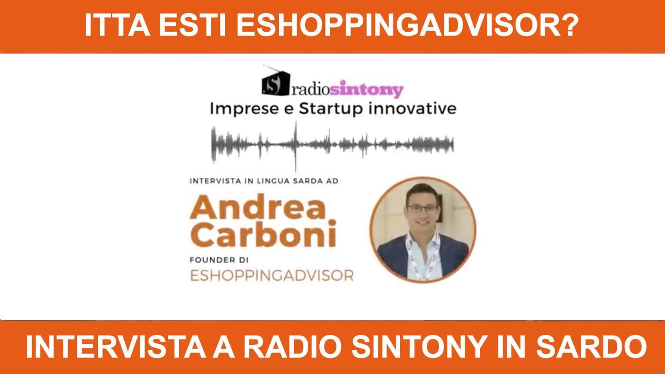 Intervista a Radio Sintony in sardo