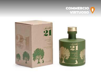 Olio D'oliva EVO Mono Cultivar Biologico Igp Sicilia Moresca 0,5 Lt