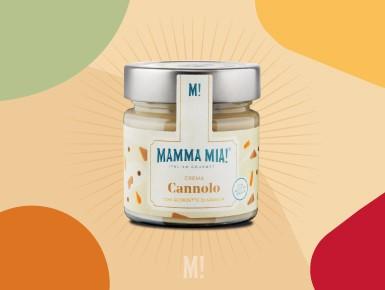Crema di Cannolo con scorzette di Arancia